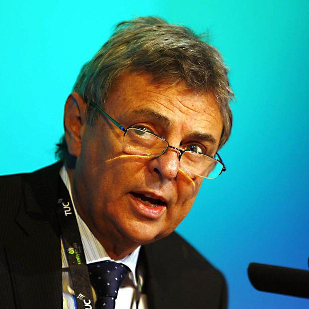 Unison general secretary Dave Prentis said workers were in the 'eye of a storm' because of the Government's policies