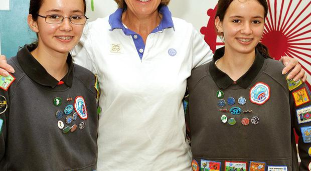 Chief Guide Gill Slocombe said that Girlguiding 'believes passionately' that girls need a space to explore their values