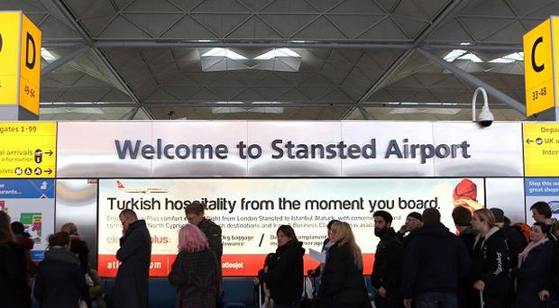 Stansted Airport will undergo an 80 million pound redevelopment