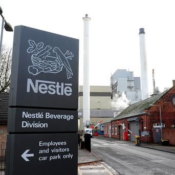 Nestle has been accused of carrying out 'sickening' tests on mice