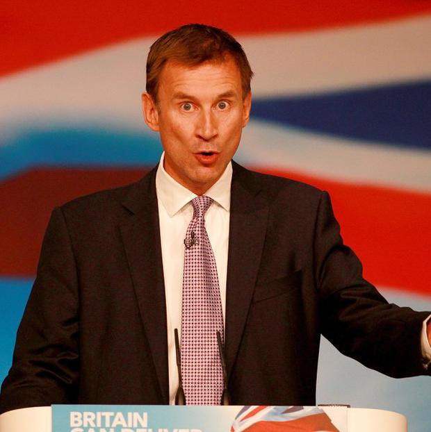 Jeremy Hunt suggested the UK has become 'so numbed to the inevitability of patient harm that we accept the unacceptable'