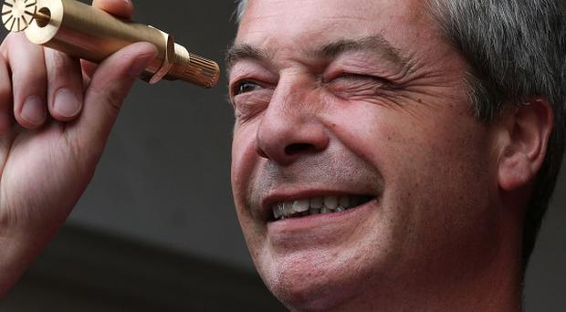 Ukip leader Nigel Farage previously spoken out against those who evade tax in a speech to the European Parliament