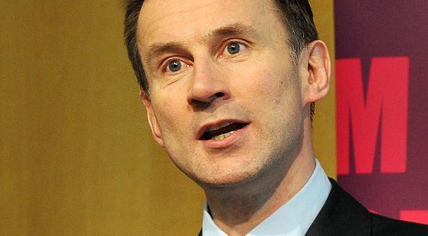 Jeremy Hunt said allegations pharmaceutical firms were rigging the market for thousands of prescription drugs were 'deeply concerning'