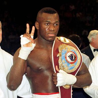 Herbie Hide was twice World Boxing Organisation heavyweight champion