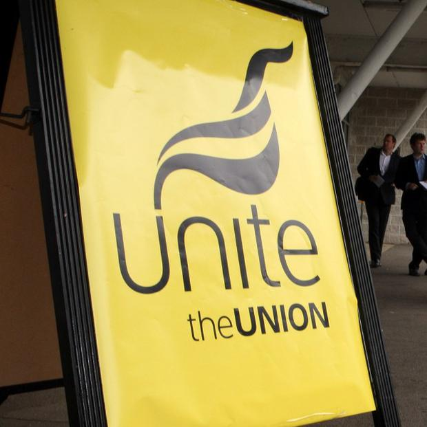 A poll by the Unite union showed two out of three people faced money troubles or job worries