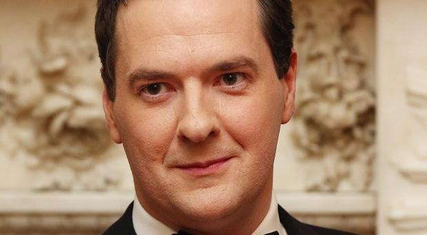 George Osborne is sounding a positive note on economic recovery