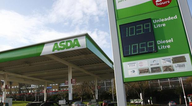 Asda sparked a price war by cutting 2p a litre off its fuel prices