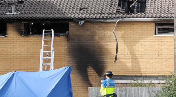 Kim Buckley, 46, her daughter Kayleigh, 17, and granddaughter Kimberley, six months, died in the blaze at their home in Cwmbran, south Wales