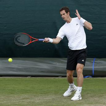 Andy Murray will play Lu Yen-hsun on Wimbledon's Centre Court