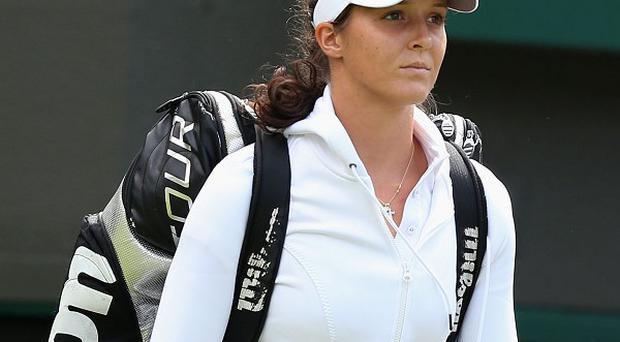 Laura Robson had been due to face Colombia's Mariana Duque-Marino at Wimbledon