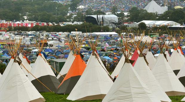 Thousands of people have arrived at Glastonbury since Wednesday