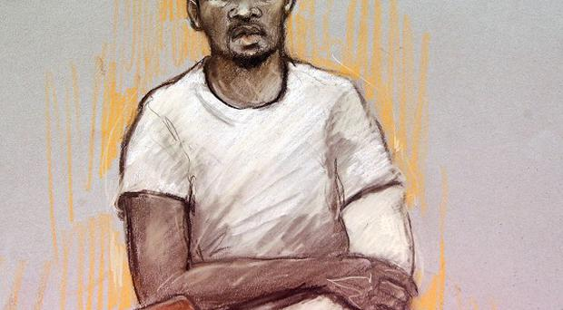 Michael Adebolajo is accused of murdering soldier Drummer Lee Rigby and of the attempted murder of two police officers (Elizabeth Cook/PA)