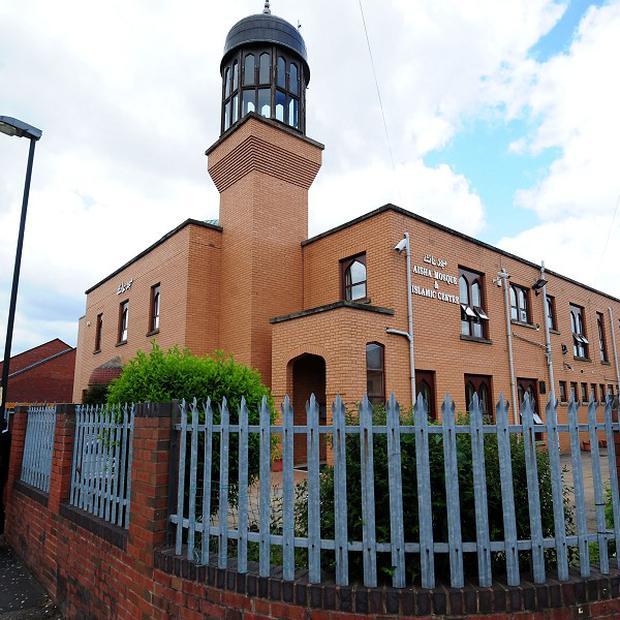 A small home-made bomb exploded near Aisha Mosque in Walsall