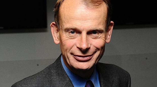 Andrew Marr suffered a stroke six months ago