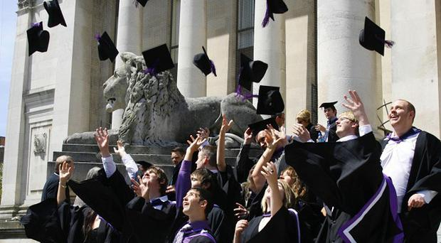 There are an average of 46 applications for every graduate vacancy, research showed