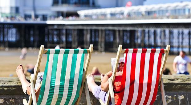Hopes of a warm summer are set to continue