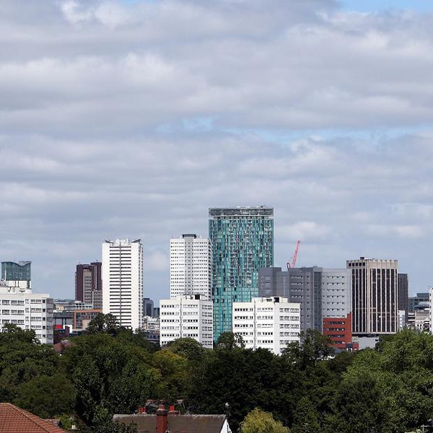 Birmingham was described as an asylum dispersal area in a Home Office report