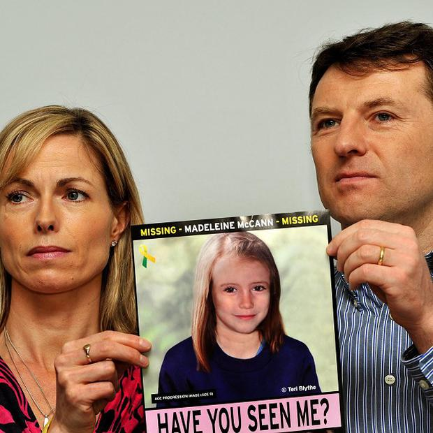 Gerry and Kate McCann's daughter Madeleine disappeared from a holiday flat in Portugal on May 3, 2007