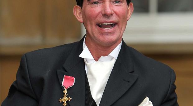 Former motorbike stunt rider Eddie Kidd received an OBE last year