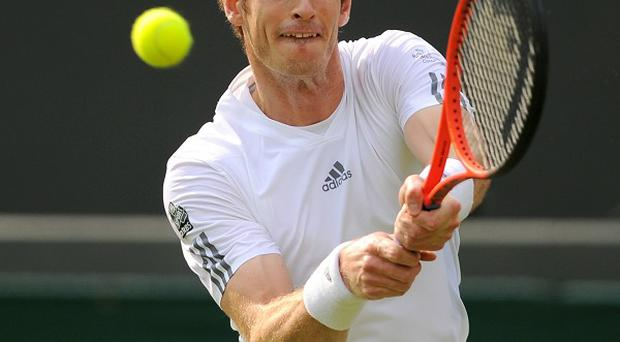 Andy Murray booked his place in the Wimbledon men's final