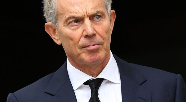 Tony Blair said while he supported democracy, 'efficacy is the challenge' in Egypt