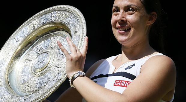 Bartoli said she would not let John Inverdale's comments detract from her grand slam success
