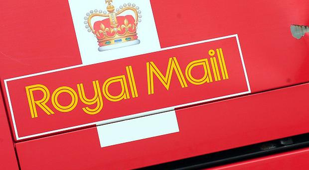 The Royal Mail van driver was left badly shaken from the ordeal