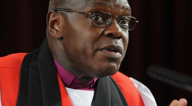The Archbishop of York, Dr John Sentamu said 'it is an insult to claim that poverty in this country is caused by people choosing unemployment'