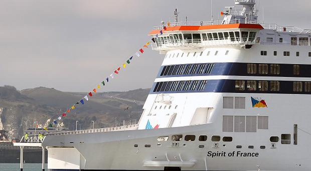 Fourteen asylum seekers have been found on P&O's Spirit of France vessel, Port of Dover Police said