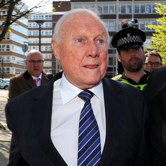 Stuart Hall was jailed for 15 months earlier this year