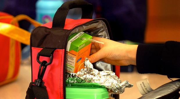 Advice against packed lunches is thought to be part of government-commissioned school food review