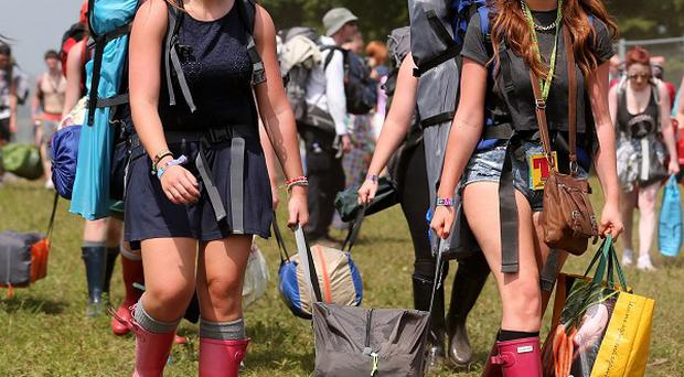 Police have reported no major issues as the festival got under way