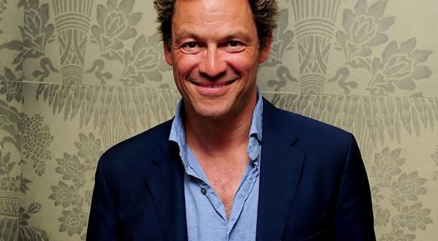 Old Etonian Dominic West is to compete in a 'gruelling' race to the South Pole