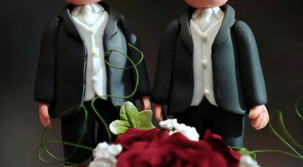 The same-sex marriage Bill survived a stormy passage through the Commons despite fierce opposition from dozens of Tory backbenchers