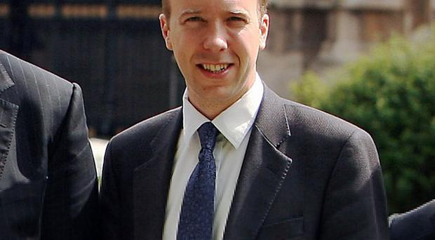 Skills minister Matthew Hancock said young people in Britain 'deserve the chance to work and get on in life'