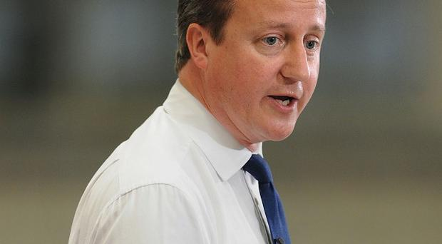David Cameron accused Labour of a 'cover up' over high mortality rates