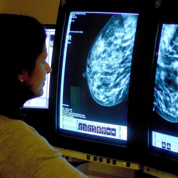In the case of breast cancer, more than 20 per cent of the cancerous tissue may be left behind