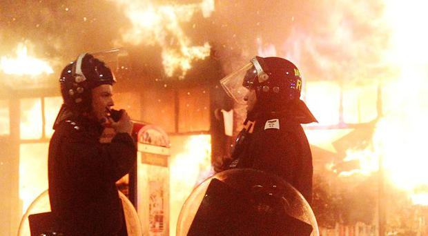 Budget cuts mean police would struggle to respond to riots like those seen in 2011, the Police Federation has said