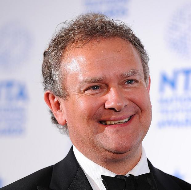 Hugh Bonneville has been nominated for an Emmy for his role in Downton Abbey