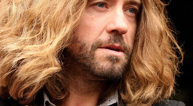 Justin Lee Collins pleaded guilty to driving the car at 76mph when subject to a 50mph limit on the M5
