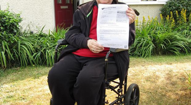 Veronica Kenning has terminal cancer and is refusing to pay her spare room subsidy
