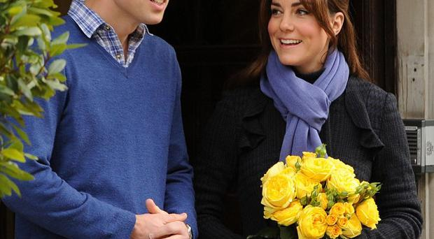 The Duke and Duchess of Cambridge say they 'could not be happier' after they became parents of a baby boy