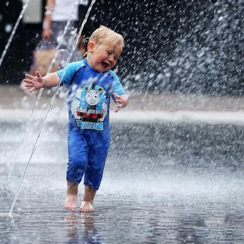 The heatwave will come to an end with thunderstorms, say forecasters