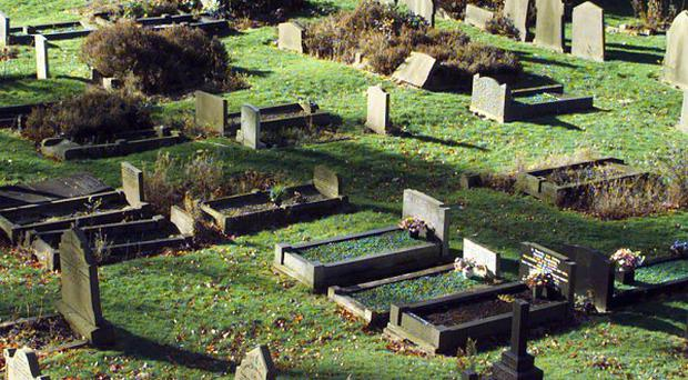 A petition is being set up over fee notices attached to headstones at Alfreton Cemetery