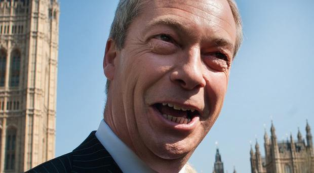Ukip leader Nigel Farage said he was 'astonished' British vacancies were being advertised abroad