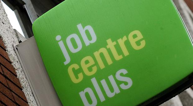 A study suggests competition for jobs has eased following an increase in vacancies