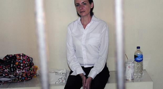 Rachel Dougall, from Brighton, was arrested in a sting operation by Indonesian police in May last year (AP)