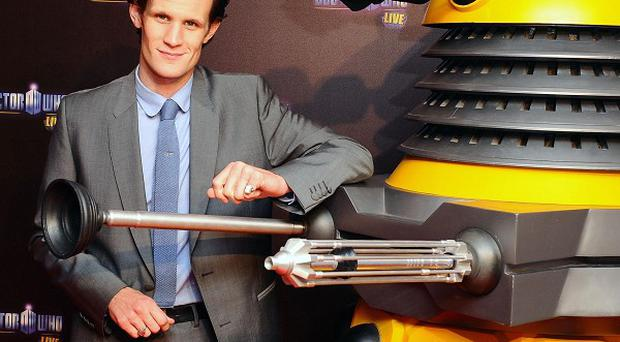 Matt Smith is bowing out from Doctor Who on Sunday