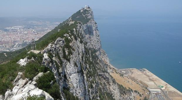 Britain's ambassador to Spain has formally protested 'disaproportionate' checks at the Spanish border to Gibraltar