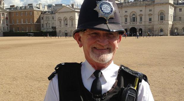 Pc Mick Mountain, the country's longest-serving police officer